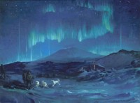 Aurora Australis, 1908, George Mattson