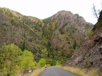 Black Canyon of the Gunnison National Park - East Portal Road and Early Fall Colors