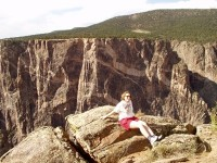 Black Canyon of the Gunnison National Park - Damsel and the Dragon