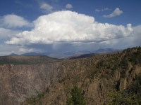 Black Canyon of the Gunnison National Park - Storm Clouds