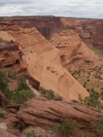 Canyon de Chelly - View from White House Trail