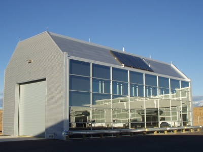 Santa Fe County Public Works - Vehicle Wash Building