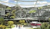 Fantasy Eco City of the Future