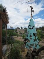 Garden & Coop Tour 2013 - Community Garden sculpture