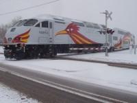 RailRunner Inaugural Santa Fe Ride