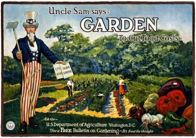 Uncle Sam Says Garden to Cut Food Costs