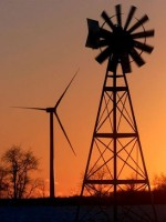 Wind Turbine and Wind Mill