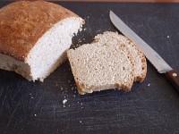 Everyday Bread on cutting board