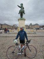 Cyclist at Versailles