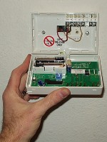 $25 Programmable Thermostat - installed