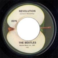 Revolution 45rpm label