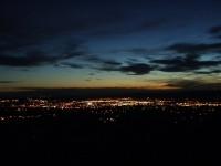 Santa Fe City Lights at Dusk